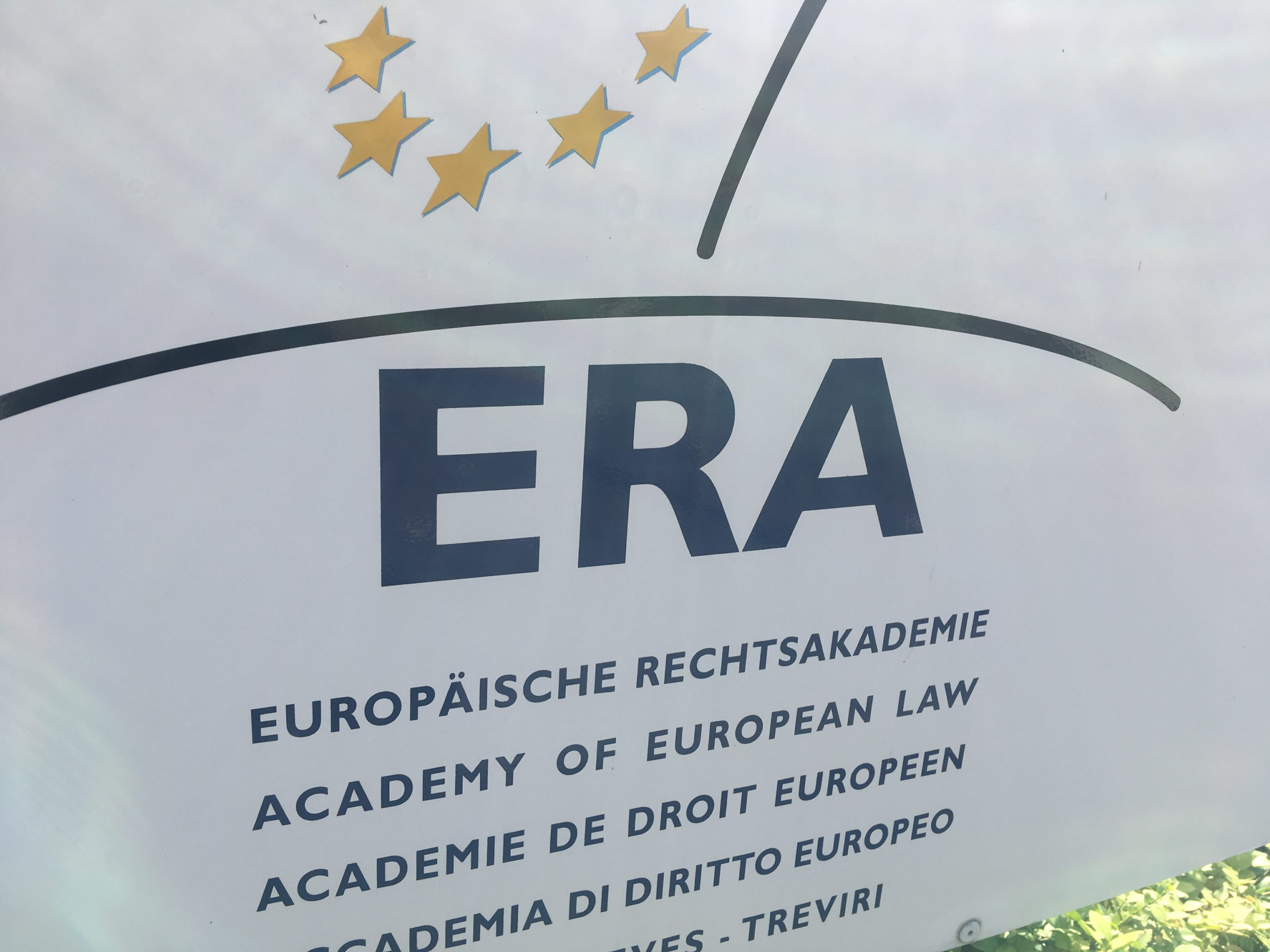 Picture of the sign outside ERA