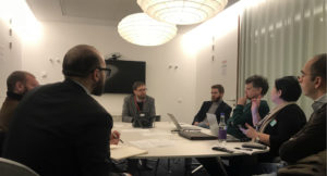 The EDA in meeting with EU officials