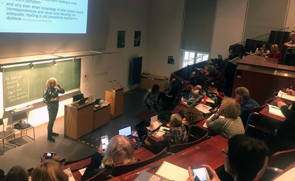 Picture from a lecture hall