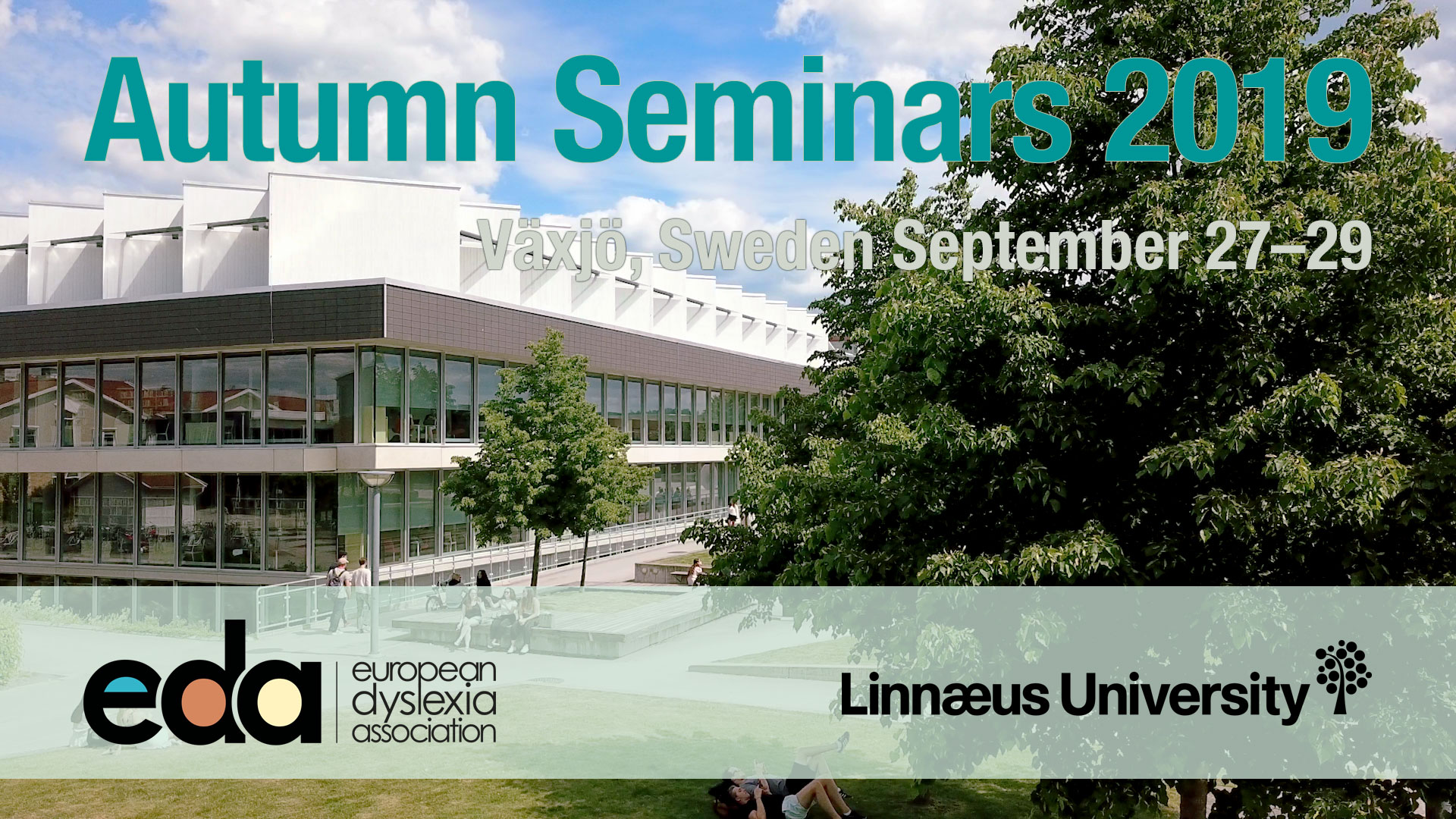 Logo for the Autumn Seminars 2019