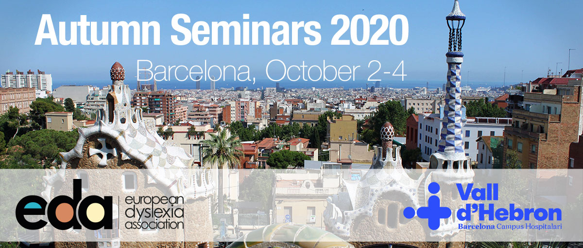 Banner for the 2020 autumn seminars
